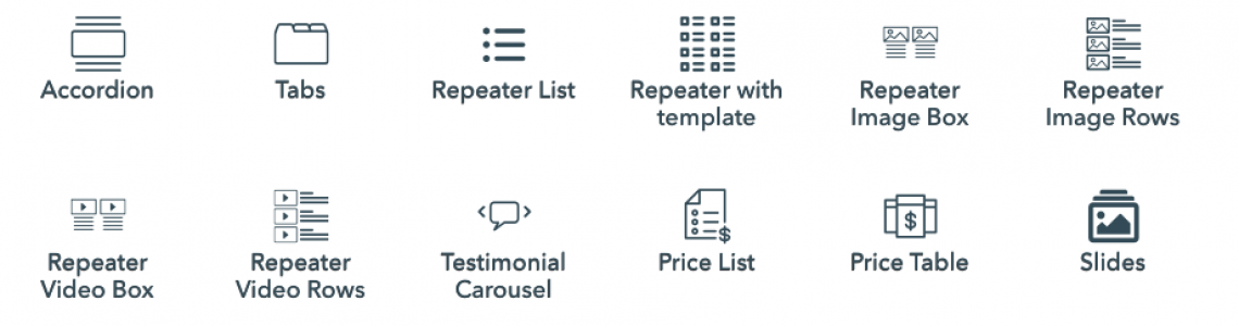 AFC repeater icons